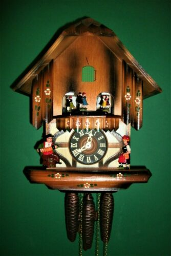 Vintage Classic SCHMECKENBECHER Musical Cuckoo Clock #86,Excellent Conditions!!!