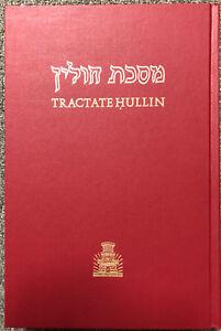 English Soncino Talmud & Aramaic CHULLIN Hullin Jewish HEBREW FACING ENGLISH NEW