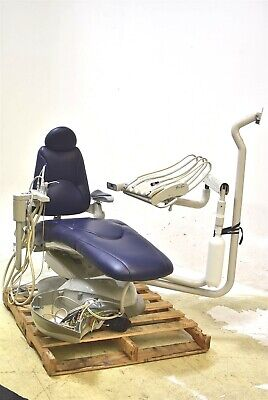 Pelton Crane Sp30 Dental Exam Chair Operatory Set-up Package Ultraleather Blue