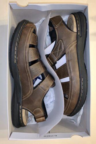 NIB New Men's Croft & Barrow FishermanS Croc/Sandals Size