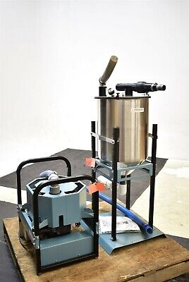 Air Techniques Sts-3 Dry 2008 Dental Vacuum Pump System Suction Unit 220v