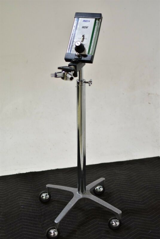 Matrx Mdm Dental Nitrous Unit Flowmeter Conscious Sedation N2O Cart