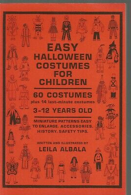 Book Costumes For Halloween (Easy Halloween Costumes for Children by Leila Albala (1987,)