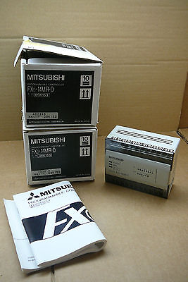 Fx0-14mr-d Mitsubishi Plc New In Box 14-io Cpu Fx014mrd