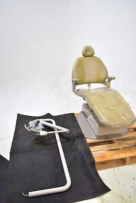 Adec 8000 Dental Tan Vinyl Chair Operatory Set-up Package