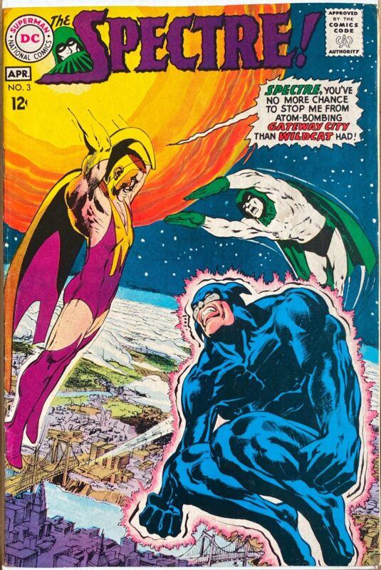 SPECTRE #3 Neal Adams ART, Wildcat DC Comics 1968 *READ DESCRIPTION