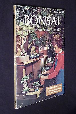 Bonsai, Culture And Care Of Miniature Trees, 1972, PB,