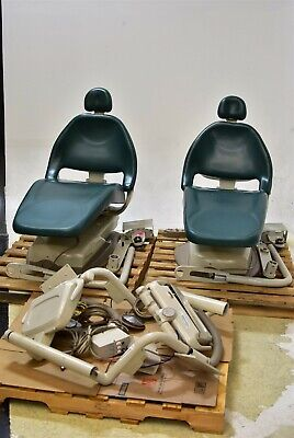 Lot Of 2 Midmark Elevance Dental Exam Chairs Operatory Set-up Packages