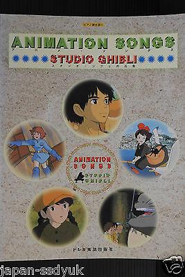 JAPAN Studio Ghibli: Piano Hikigatari Anime Ghibli Sakuhin-Shu (Piano Score)