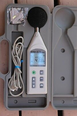 Extech Instruments 407764 Sound Level Meter Rs232 Data Logger