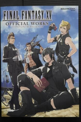 JAPAN Final Fantasy XV Official Works (Art Guide Book)