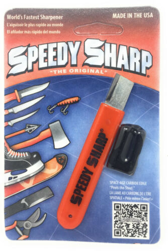"""The Original"" Speedy Sharp Carbide Sharpener, Knife Sharpener,  Orange"
