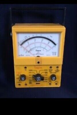 Simpson 260 Series 8 Xl Analog Volt-ohm-milliammeter Vom Multi-meter Industrial