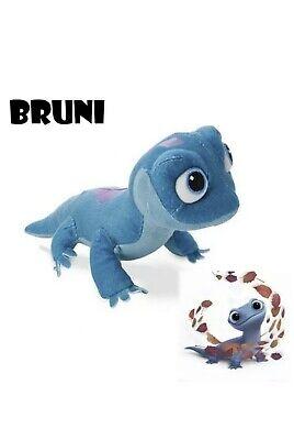 "Frozen 2 10"" Plush Bruni Salamander Fire Spirit Lizard Stuffed Animal Toy Doll"