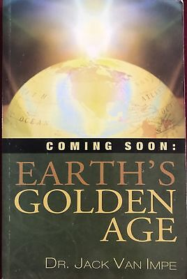 Used, Coming Soon Earth's Golden Age by Dr Jack Van Impe Christian Armageddon End Time for sale  Butler