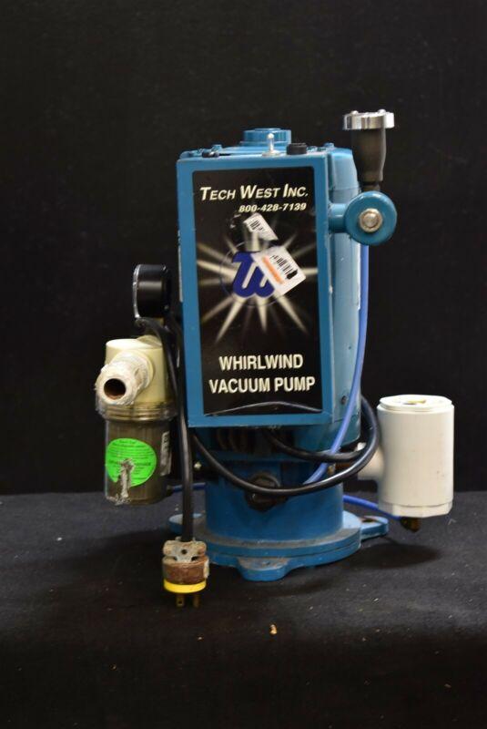 Tech West VPL4S2 Dental Dentistry Vacuum Pump System Operatory Suction Unit
