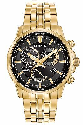 Citizen Eco-Drive Men's BL8142-50E Caliber 8700 Alarm Perpetual Calendar Watch