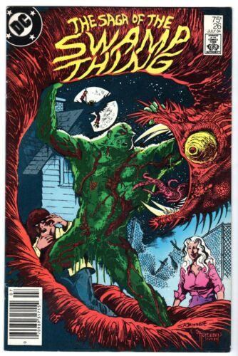 Saga of the Swamp Thing #26, Near Mint Minus Condition*