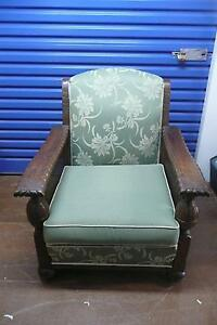 Two gorgeous Jacobean armchairs - urgent sale required Yarraville Maribyrnong Area Preview