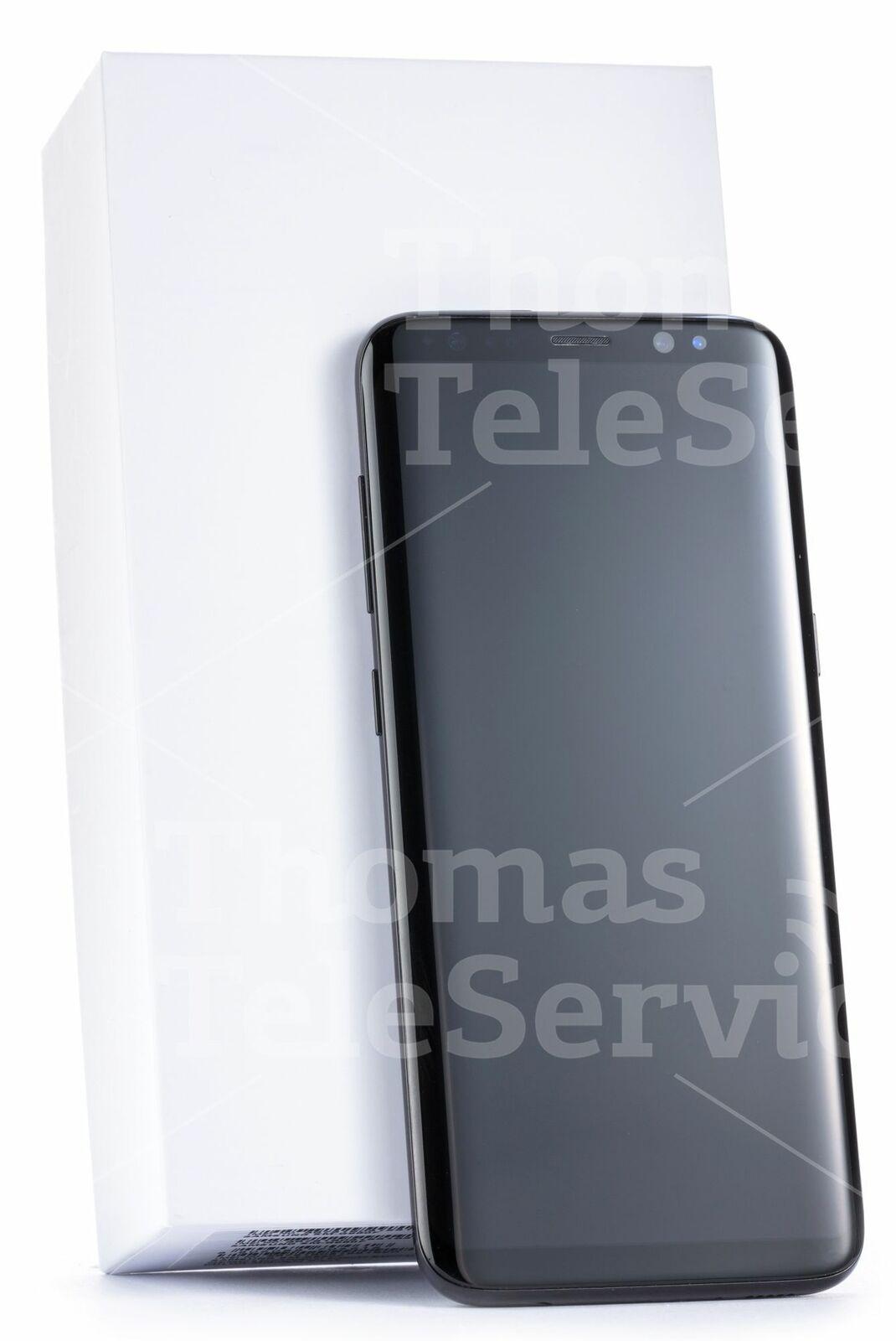 Samsung Galaxy S8 G950f Black Schwarz Smartphone Handy Android HD 12MP Wie Neu