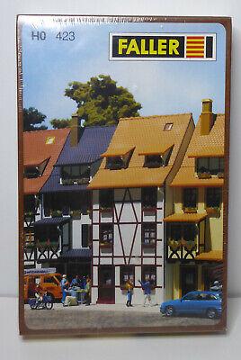 Faller 423 Bausatz HO Wohnhaus mit Fachwerk noch OVP in Folie (21014)