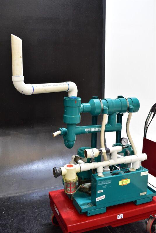 ADP Apollo AVB10T Dental Vacuum 2HP Pump System Operatory Suction Unit