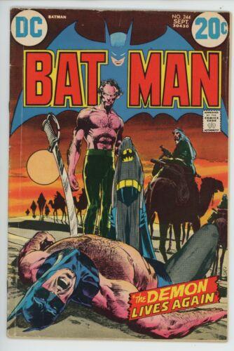 Batman #244 DC Comics 1972 Ra