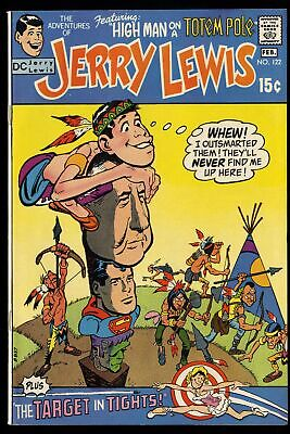 Adventures of Jerry Lewis #122 VF 8.0 Superman Frankenstein!