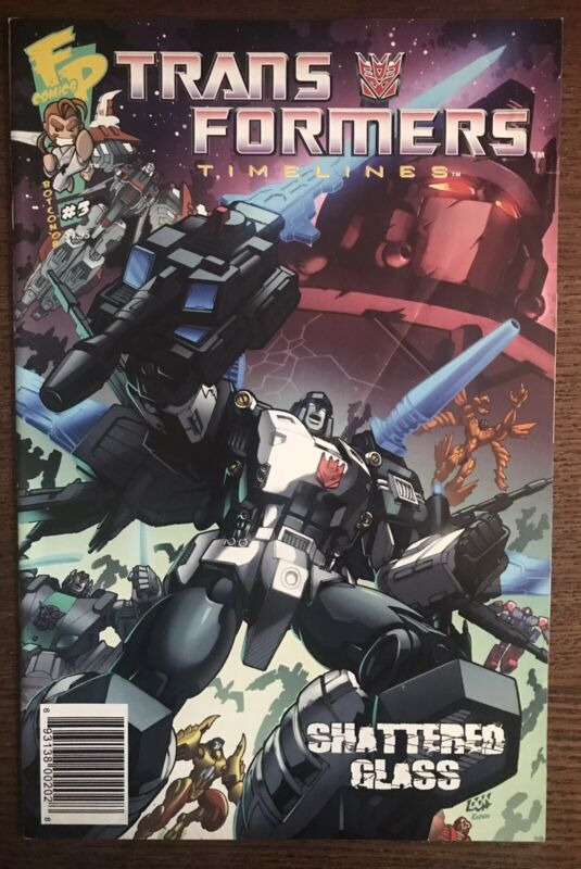 Transformers Timelines #3 2008 Botcon Shattered Glass Comic Book