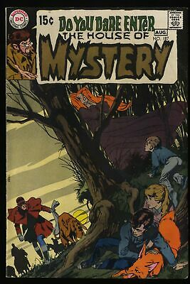 House Of Mystery #187 FN/VF 7.0 DC Comics Neal Adams!