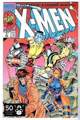 X-Men #1 - Colossus, Rouge, Gambit & Psylocke Cover, Near Mint Minus Condition