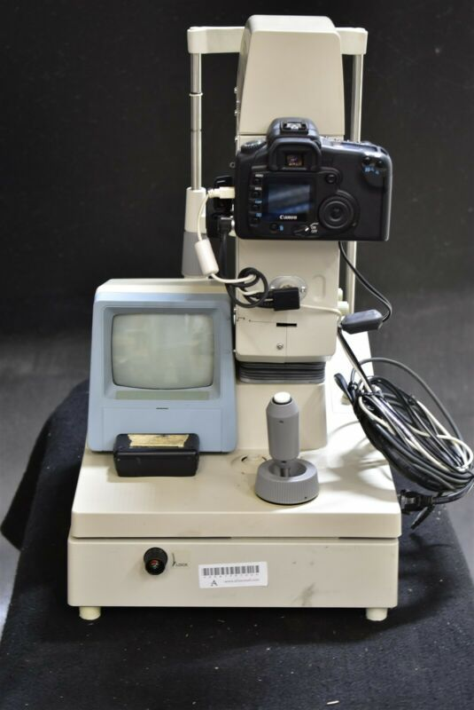 Canon CR-DGi Fundus Retinal Camera Optometry Ophthalmology Unit - SOLD AS-IS