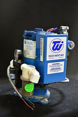 Tech West Vpl4s2 Dental Vacuum Pump System Operatory Suction Unit - For Parts