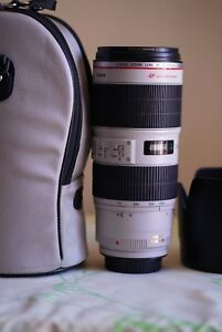 Canon 70-200mm f2.8 L IS USM II (Iike new in box)