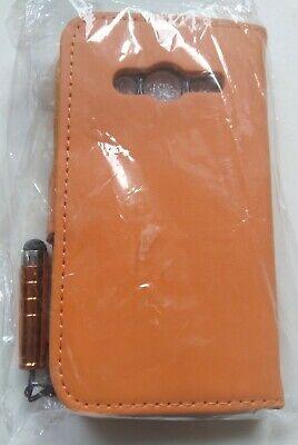 Orange Galaxy Ace Protection Safety Case Leatherette Unused