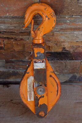 Jet Snatch Block Pulley 1 Ton 4 Wheel