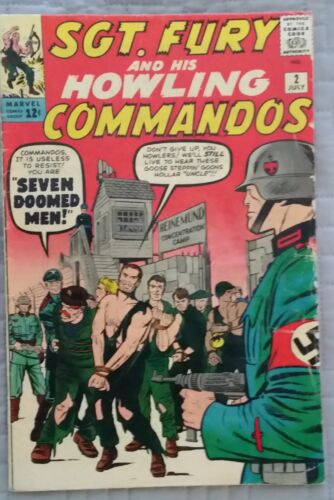 SGT FURY & HIS HOWLING COMMANDOS #2 ~ SILVER AGE