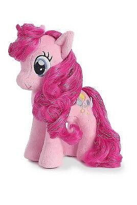 "Aurora My Little Pony 6.5"" Plush Figure with Mylar Hair- Pinkie Pie"