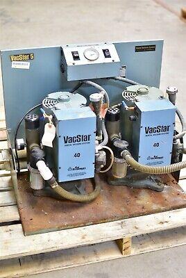 Air Techniques Vacstar 5 Dental Vacuum Pump System Suction Unit - For Parts