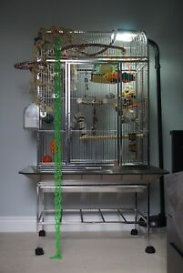 304 MEDICAL GRADE STAINLESS STEEL BIRD CAGE