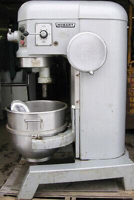 60 Quart Hobart Mixer With Hook. 3 Phase 200-240 Volt 2 Horsepower Motor W Hook