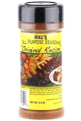 Mike's All Purpose Seasoning - Original 5.2 Ounce Shaker - All Purpose Shaker