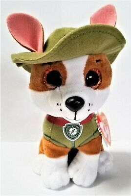 Beanie Boo Stuffed Animals (Ty Beanie Boo's 6'' Paw Patrol Tracker Stuffed Plush)