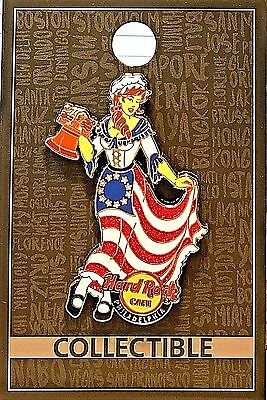 Hard Rock Cafe Philadelphia Core Betsy Ross Pin 2017 HRC LE Limited Edition New