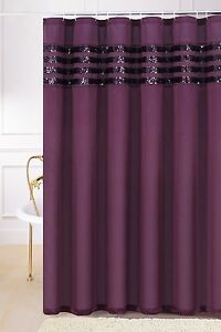 Plum Shower Curtain Ebay
