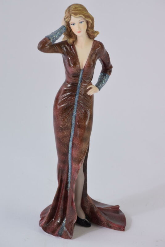 Vintage The Regal Collection Elegant Lady Figurine STEPHANIE Rare Figure P018