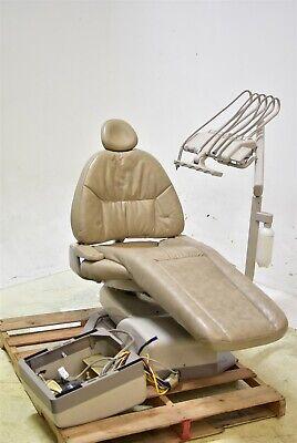 Adec 1040 Dental Exam Chair Tan Vinyl 2000 Operatory Set-up Package