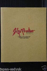 Saga-Frontier-II-Postcard-Book-OOP-1999-Japan