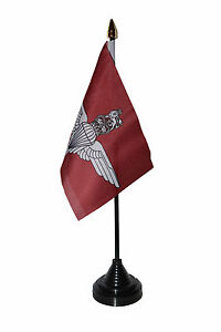 PARACHUTE-REGIMENT-BRITISH-ARMY-TABLE-FLAG-desktop-flags-6-x-4-PARAS