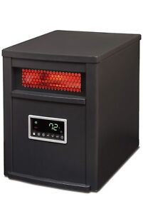 Life-Source 6 Element Infrared Heater With Remote  $120